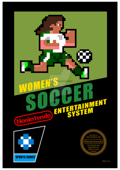 Womens Soccer NES by prometheus31