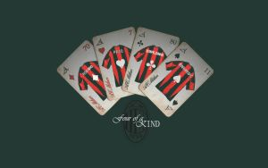 A.C. Milan: Four of a Kind by Heli0x