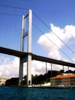 Bosphorus Bridge, Istanbul by CourageMyLove