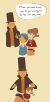 Professor Layton in a Nutshell by Mugges
