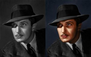 Vincent Price Colorization by GreenishQ8