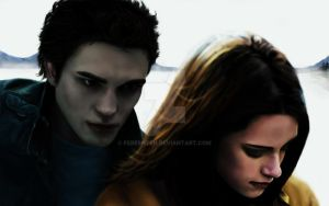 Bella and Edward by Fereshteh