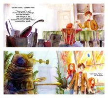Doctor Who Children Book Pages by KrymsonTear