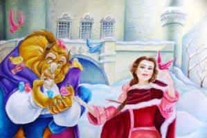 Beauty and the Beast by Alena-Koshkar