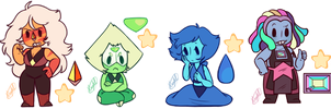 More Gem Charms by KiraNohara