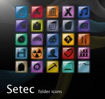 Setec folder icons by erosle