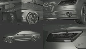 Audi S7 Sportback Clay Compilation by user121o
