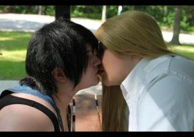 LOVELESS: Surprise Kiss by Cizzy-Swag