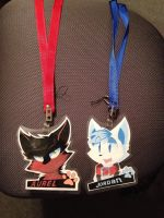 Two Badges! by SmilehKitteh