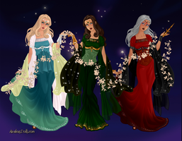 Goddess Maker: The Fates by Saphari