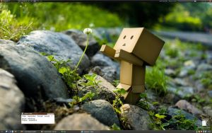my desktop on 2009.01.10 by The-Golden-Brown