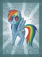 Rainbowdash 3.0 by raptor007