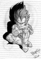 Vegeta by mily-the-cat