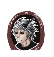Damon Preussen - iScribble by werepire51