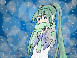 Girl In The Snow by pandy-love