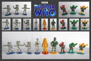 Doctor Who - Miniatures 2 by mikedaws