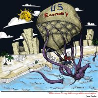 A giant squid will swallow US economy! by Cayasha