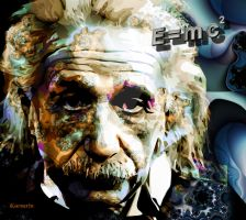Albert Einstein by ivankorsario