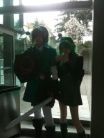 SakuraCon 2012: Saria and Link by Fainting-Ostrich