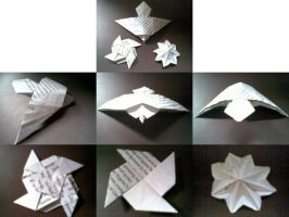 3 Paper Creations by Heyro0