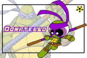 TMNT the PPG style-Don by Porn1315