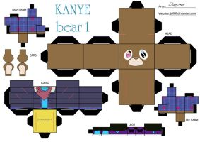 Kanye Bear 1 by Cubee-acres