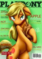 PlayPony - AppleJack by pshyzo