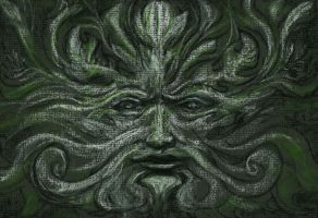 Green Man by IntuitionStudio