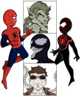 Spider-men by KirstyEmma