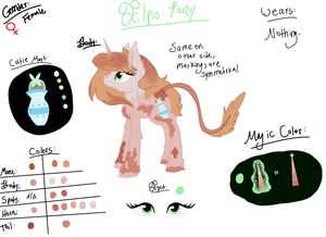 Elpis Reference Sheet