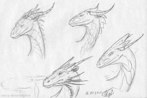 11.01.16 heads sketches by axe-ql