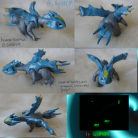 Kyurem Sculptures-more shots by Solastyre