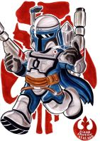 Jango Fett Birthday Gift by Yamatoking