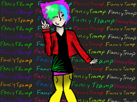 For FancyTramp by Wolfief