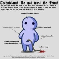 Do Not Trust The Fetus by paniq