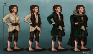 Ivy the Hobbit by RachelleFryatt