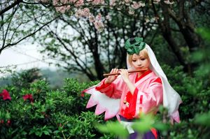 ushiwaka fluting by sara1789