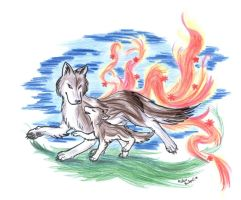 A wolf can bring... by Celesime
