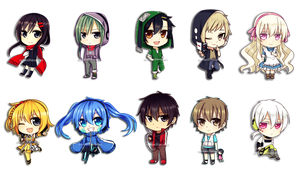 Mekakucity Actors Cursor Pack by PotatoeMary