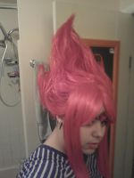 Flame Princess Wig by Kitten-of-Darkness