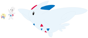 Togepi, Togetic and Togekiss Base by SelenaEde