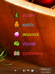 X_mas rainmeter skin by kissofdead06