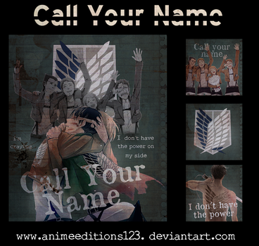 Call your name by animeeditions123