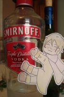 VODKA, a Russia paperchild by Moonlight-Waters