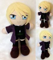 Commission, Mini Plushie Alois Trancy by ThePlushieLady