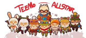 Teemo ALLSTAR by LataeDelan