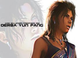 Oerba Yun Fang 2-Digital Painting by Firesphere306