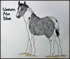 Western Abe Blue by Purple-Hippie