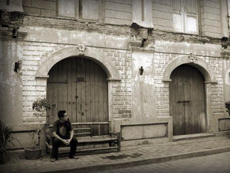streets of vigan by silvercross00