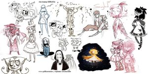 Sketchdump 11302012 by MarionetteDolly